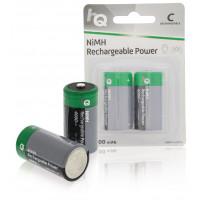 Oplaadbare NiMH Batterij C 1.2 V 4000 mAh 2-Blister
