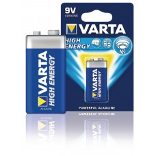 Alkaline Batterij 9 V High Energy 1-Blister