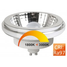 Megaman MM09438 Reflector AR111 10-75W GU10 Dim to warm 45°
